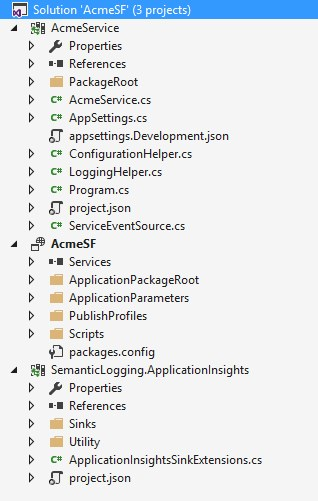 Semantic Logging & Application Insights